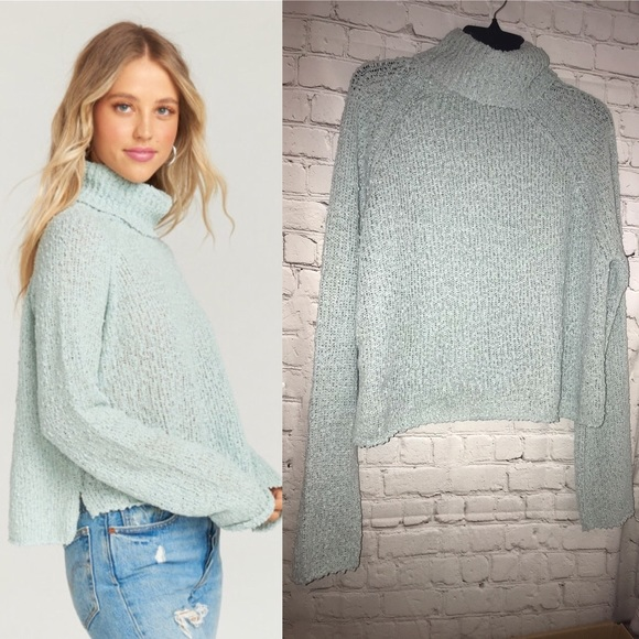 23ad0b3e54f Show Me Your Mumu Maurice Knit Mint Sweater